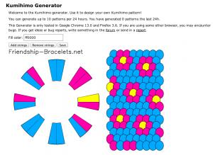 kumihimo generator